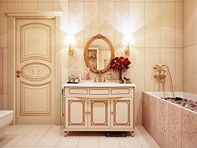 收纳好帮手 22张带柜子的洗手台设计图