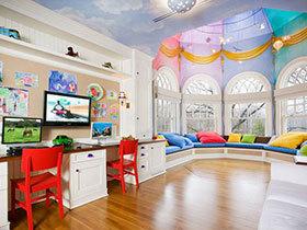 14张儿童书桌设计效果图 可爱范儿十足