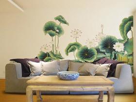 古典中式风 20款中式手绘墙图片