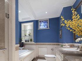 15张彩色洗手台设计图 打造清新卫生间