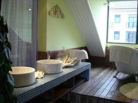 16张圆形洗手台设计图 圆润美观