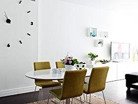 时尚简约风 14张极简餐桌背景墙设计图