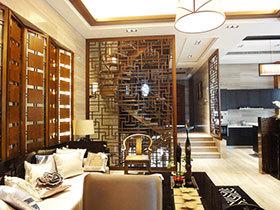 古色古香中国风 17张中式客厅隔断效果图