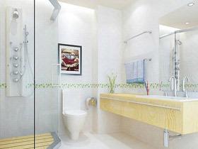 卫生间也要文艺 16款卫生间装饰画效果图