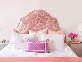 歐式也能小清新 14款歐式床頭軟包圖片