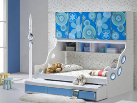 多功能儿童房 13款组合儿童床设计