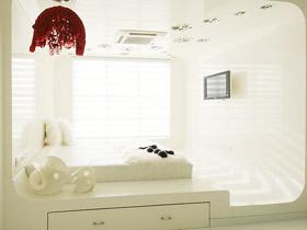 优雅白色范 12款地台装修效果图