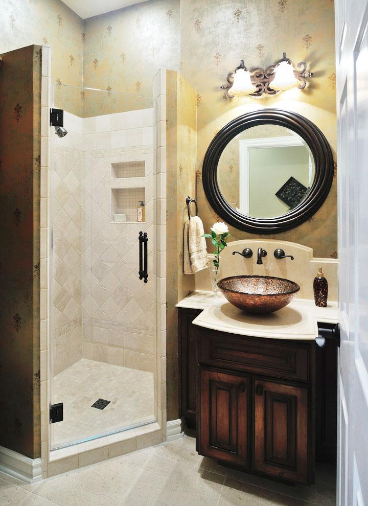 个性浴室柜设计图