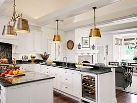 古典欧式风 15张欧式厨房灯具设计图