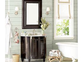 典雅欧式风 17张浴室柜设计图
