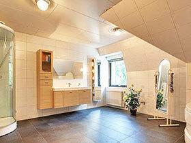 自然原木风 13张田园风浴室柜效果图