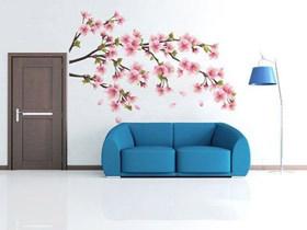 时尚沙发背景墙 13款沙发手绘墙图片