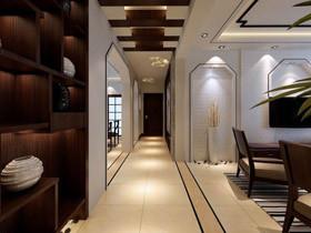 大气客厅过道 18款中式走廊效果图