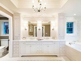 15张狭长型浴室柜设计图 实用性十足