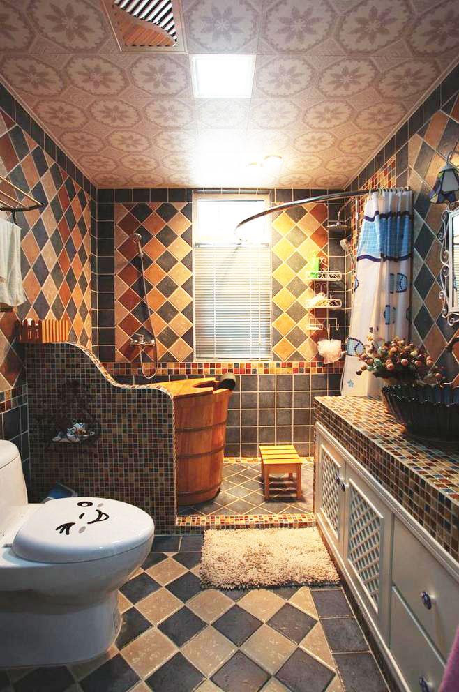 地中海浴室柜设计图