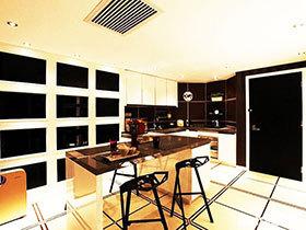 14张厨房吧台装修效果图 既隔断又休闲