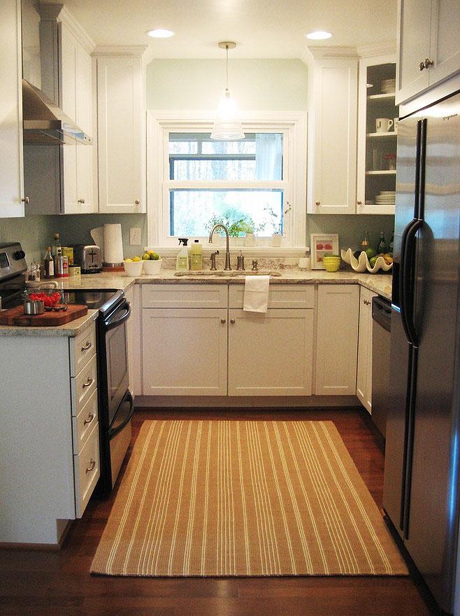 白色厨房设计图