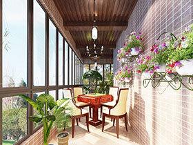 14张阳台集成吊顶效果图 每个角落都要美