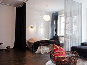 客厅与卧室隔断 20图空间巧利用