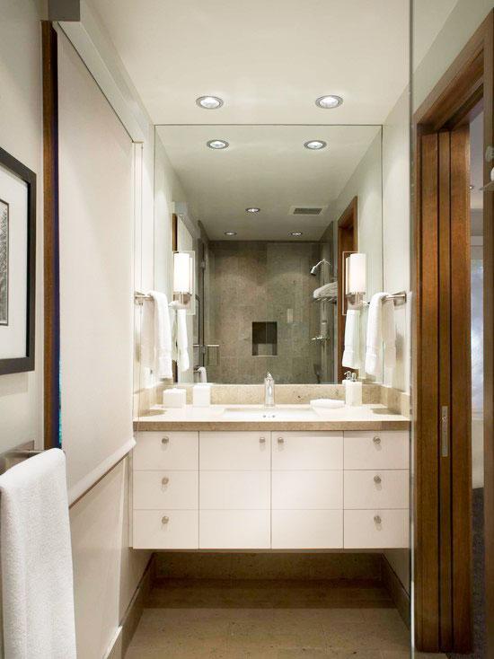 清新浴室柜效果图
