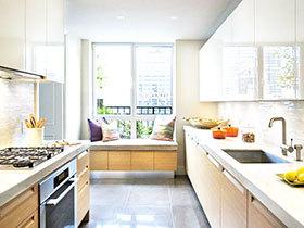 12张厨房飘窗装修效果图 厨房也可这样设计