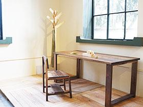 亲近自然之选  12实木餐桌图片大全