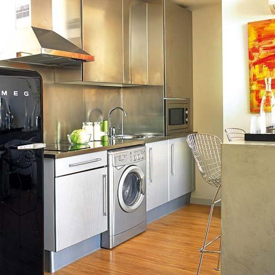 现代简约时尚厨房设计效果图