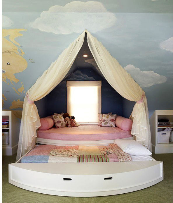 卧室榻榻米床效果图