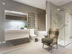 16张卫生间地砖效果图 既防滑又美观