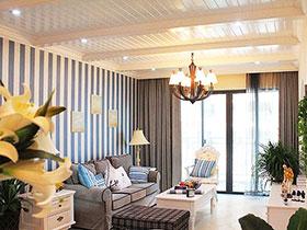 12张沙发背景墙壁纸效果图 简单时尚