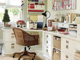 12张转角书桌设计图 角落也有大用途