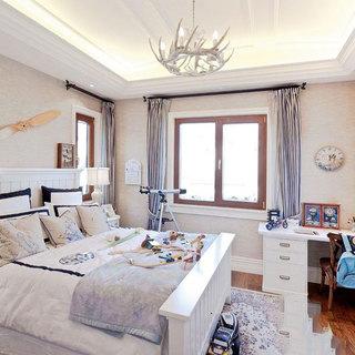 白色卧室吊顶设计图