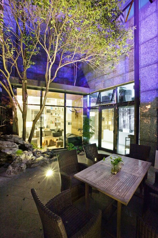 私人庭院设计效果图