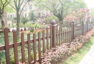 实木庭院围栏设计图