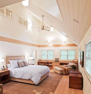 黄色卧室吊顶设计图