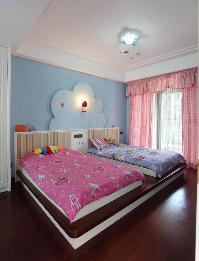 简洁卧室吊顶设计图