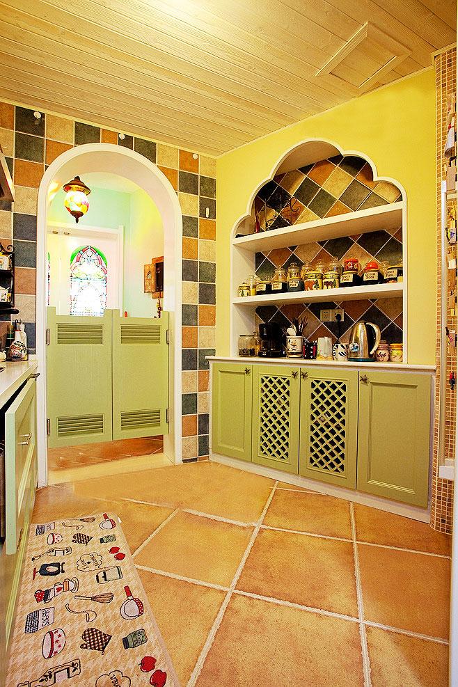 綠色櫥柜設計圖