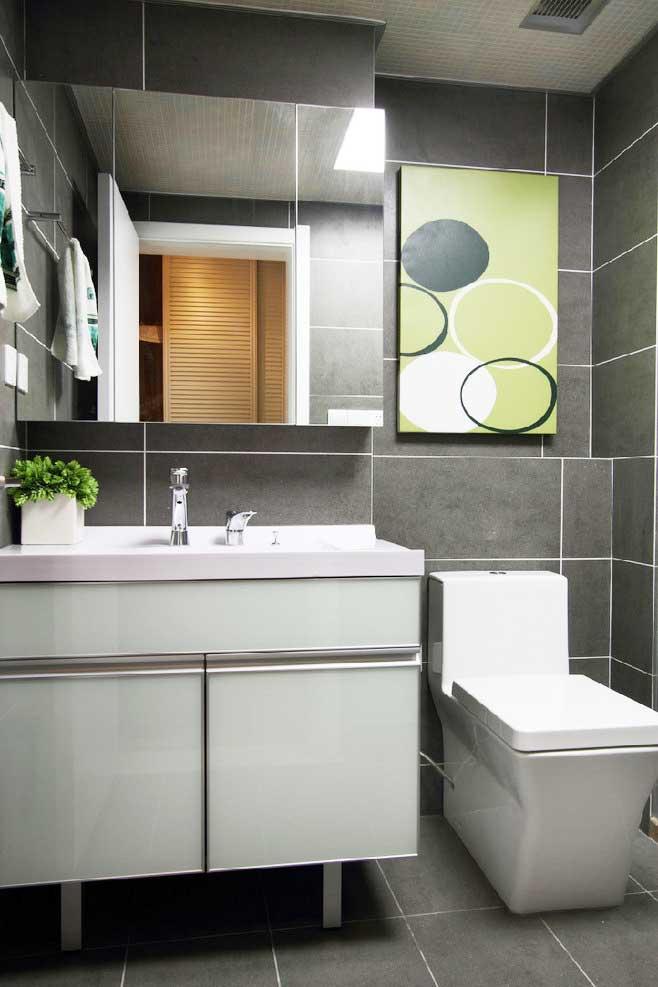 玻璃浴室柜设计图