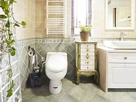 13张田园风格浴室柜图片 唯美清新