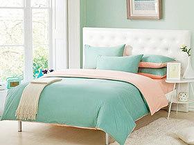 小清新卧室 15款卧室床头软包图片