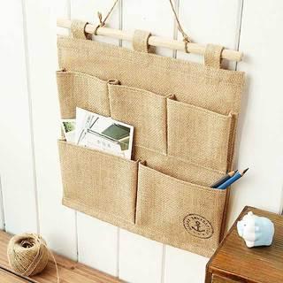 米色收纳袋设计图