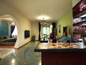 复古多元素混搭两居室 我的家像梦中花园