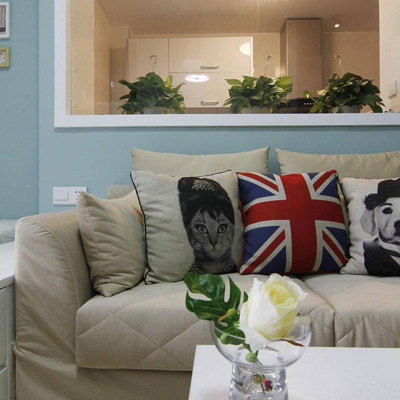 简约风格一居室40平米设计图