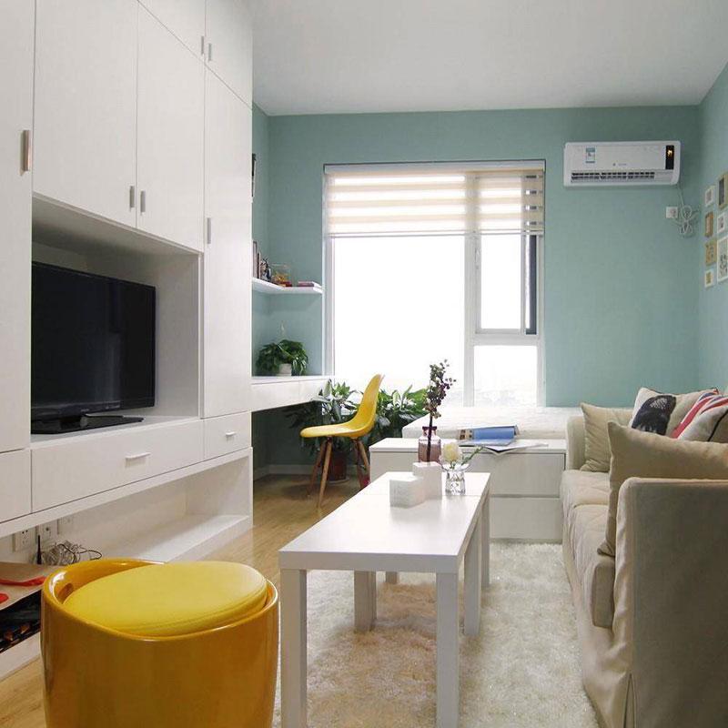 简约风格一居室40平米装修图片