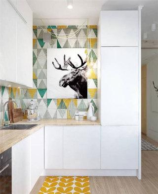 北欧风格一居室40平米装修效果图