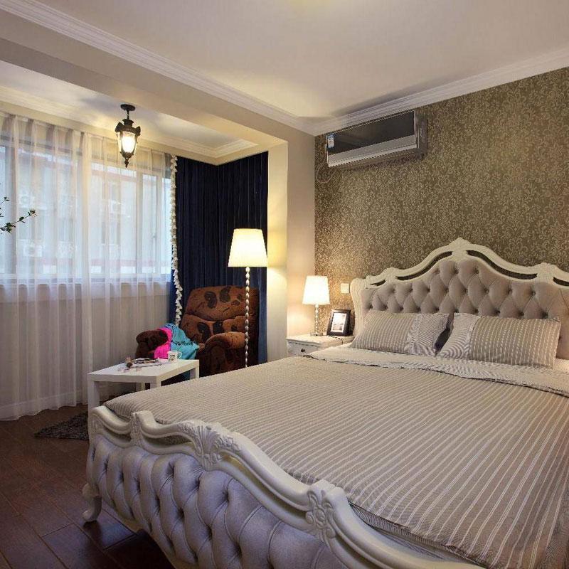 美式温馨卧室设计效果图