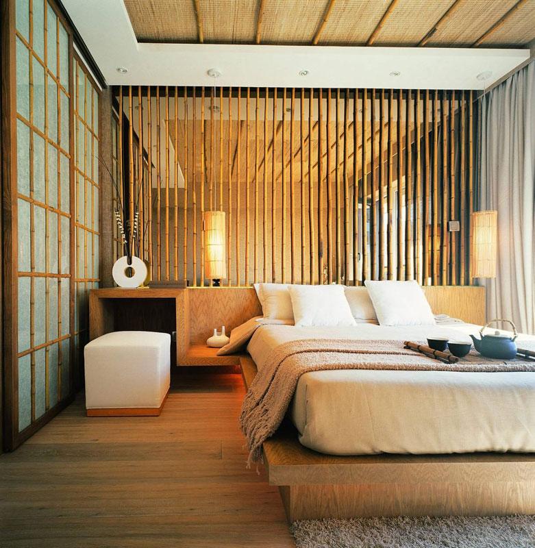 新中式清新卧室设计效果图