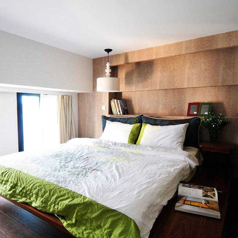 简洁卧室设计效果图