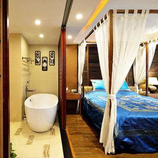 东南亚风格三居室120平米设计图纸