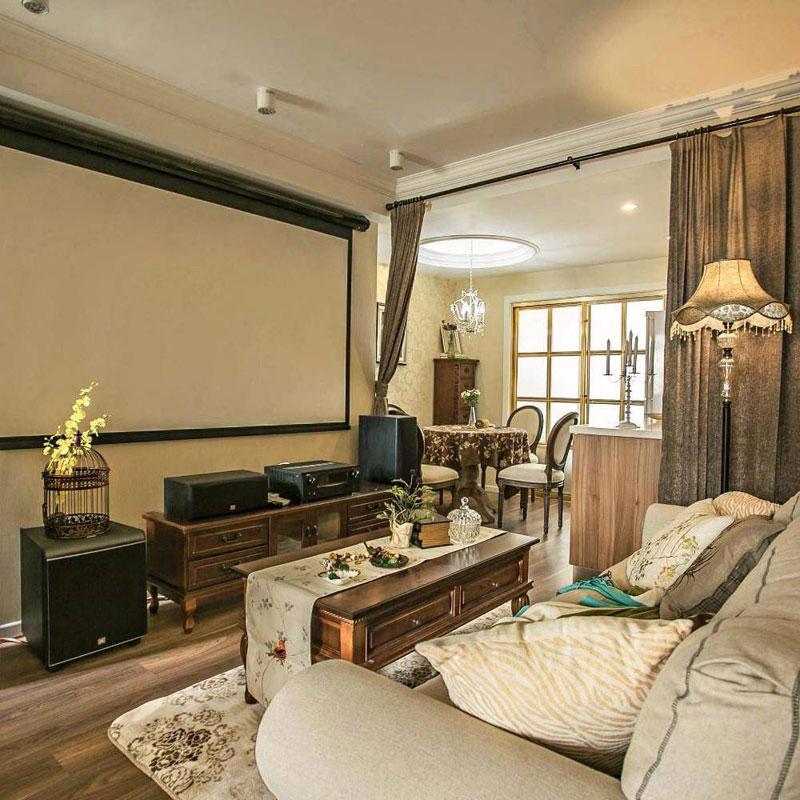 美式清新客厅设计效果图